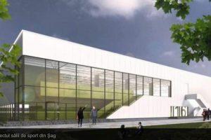 Sala de sport din Şag prinde contur