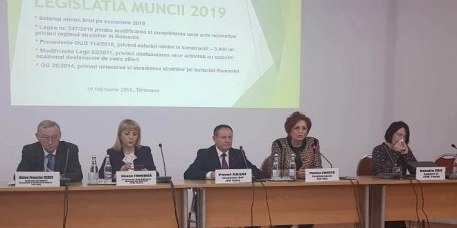 Sesiune de informare a agenților economici privind legislația muncii la CCIAT