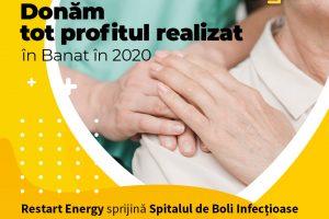 Furnizor de energie electrica si gaze naturale doneaza tot profitul realizat in Banat pentru lupta impotriva epidemiei COVID-19