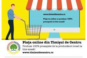 Timișenii îşi pot face piaţa online direct de la producători