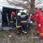 Accident cu trei victime la ieșirea din Curtici spre Sântana