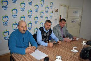 PMP Timiș și-a anunțat candidaţii la Primăria Sacoșu Turcesc și la Uivar