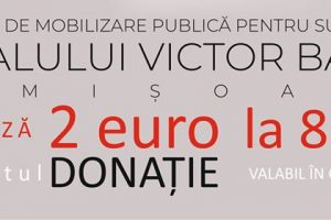 """Se strâng bani pentru """"Victor Babeş"""". Donează 2 euro prin SMS!"""