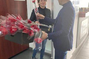 De 8 Martie, flori pentru pasagerele Aeroportului Internațional Timișoara