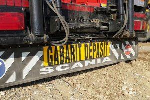 Transport agabaritic pe traseul Borş-Calafat