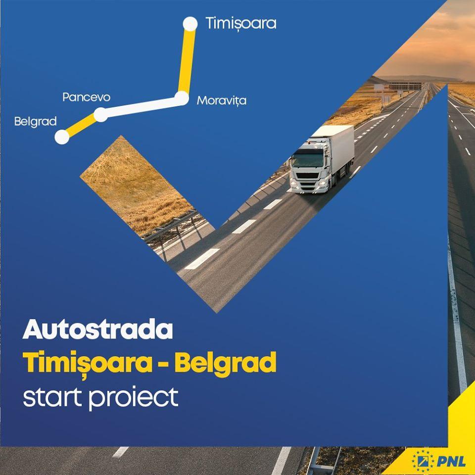 Autostrada Timişoara-Moravița are contract de proiectare