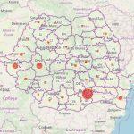 Harta pe județe a cazurilor de coronavirus. 131 de persoane confirmate la nivel național