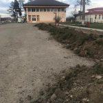 Se modernizează centrul comunei Sânmihaiu Român