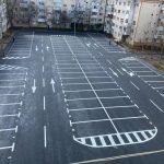 Încă 90 de locuri de parcare în locul garajelor demolate