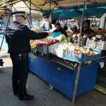 Pieţarii, amendaţi din nou de Poliţia Locală