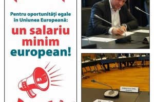 Călin Dobra: Susțin demersul pentru implementarea unui salariu minim european