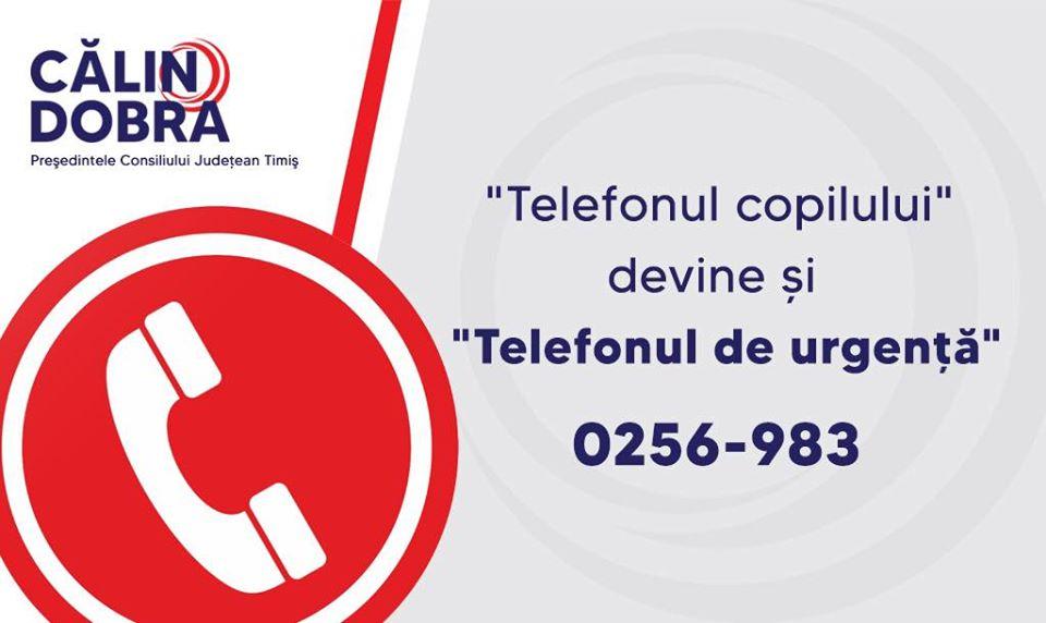 Timişeni, rețineți și distribuiți acest număr de telefon!