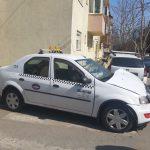 Un taximetru și un autoturism s-au ciocnit în Calea Aradului