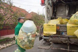 Anunţul Primăriei Săcălaz privind distribuirea de saci pentru reciclabile