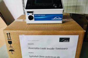 Asociaţia Look Inside a reuşit să cumpere primul ventilator pentru Judeţean. Cum puteţi dona în continuare