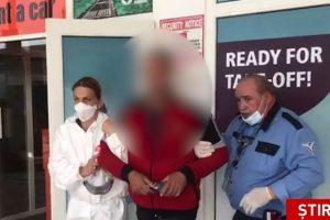 Un bărbat care pleca la muncă în Germania a făcut atac de panică pe aeroportul din Timișoara