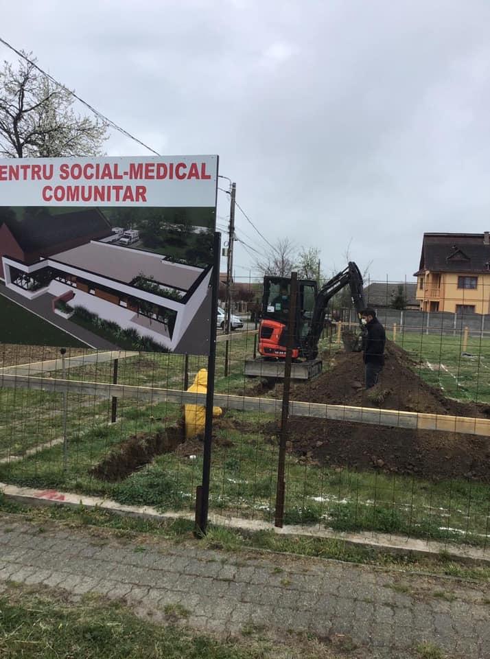 La Şag se ridică un Centru Social-Medical Comunitar