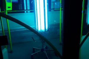 Mijloacele de transport din Timişoara, dezinfectate şi cu lumină ultravioletă