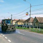 Primăria Recaş dezinfectează străzile din oraş şi satele aparţinătoare
