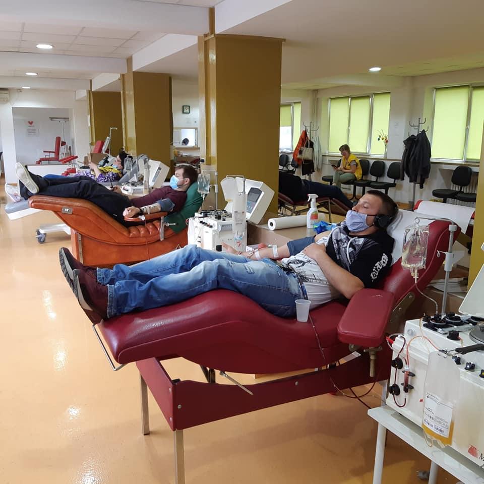 Colectarea plasmei pentru tratarea pacienților infectați cu noul coronavirus se poate face şi la Timişoara