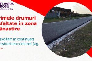 Mai multe străzi din Şag vor fi asfaltate