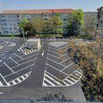 O nouă parcare în loc de garaje, în Calea Lipovei