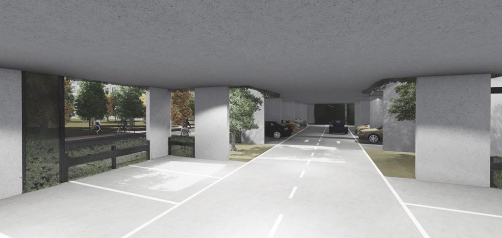 A fost finalizat Studiul de Fezabilitate al parcării de cartier supraetajată din zona Dacia