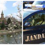 Salvată de un jandarm, în ultima clipă, de la moarte