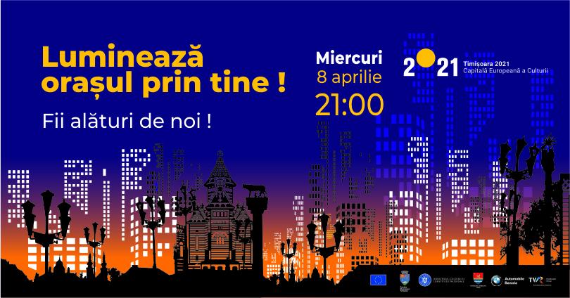 Timișorenii vor aprinde lanterne în balcoane în semn de solidaritate cu medicii care luptă cu COVID-19
