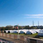 Spitalul de campanie de pe Stadionul CFR se deschide miercuri