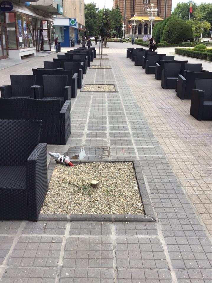 """Adrian Orza: """"Mutarea teraselor sub arborii de pe Corso se dovedeşte o idee greşită"""""""