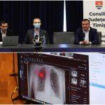 Reprezentanţii CJ bat palma cu o echipă de tineri IT-iști timișeni pentru a introduce inteligența artificială în spitale