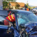 Grav accident la Coșevița. A intervenit elicopterul SMURD