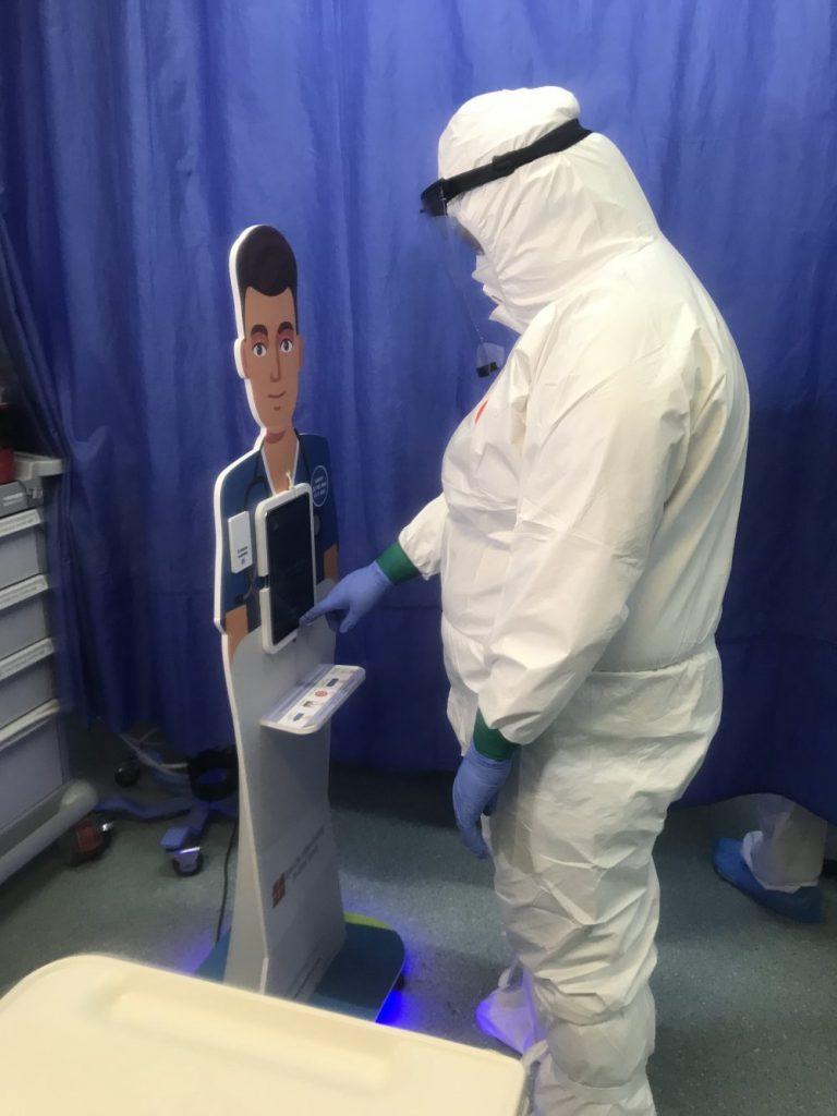 Ajutor virtual, dar de nădejde, pentru personalul medical de la Urgenţele Judeţeanului