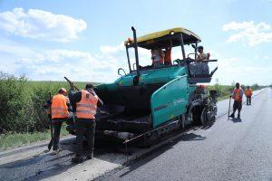 Drumul județean spre A1, din Topolovățu Mare, refăcut