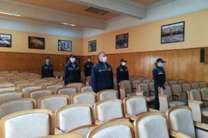 Elevii din școlile de poliție au depus jurământul militar