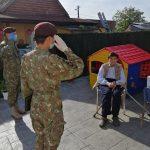 Surpriză pentru un veteran de 98 de ani din Izvin