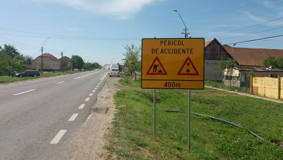 Restricţii în Timiş, pe un drum naţional