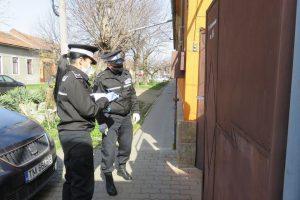 5 polițiști locali în izolare, după ce au patrulat împreună cu polițistul depistat pozitiv cu coronavirus