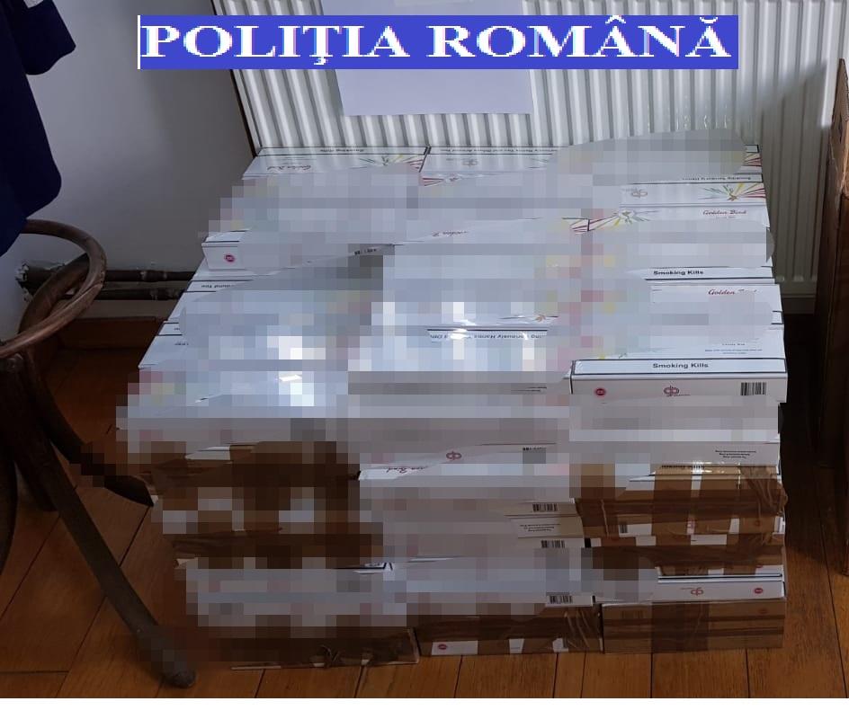 Percheziții în Lugoj la contrabandiștii de țigări