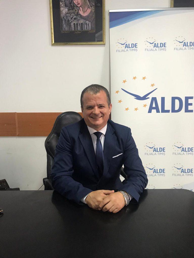 ALDE Timișoara și-a stabilit candidatul pentru fotoliul de primar al orașului