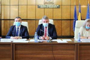 Întâlnire între ministrul Transporturilor, secretarul de stat Alexandru Mutruc și directorii aeroporturilor