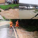 Banatul, sub ape. Ploile afectează traficul rutier