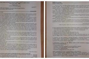 Subiecte Evaluare Națională 2020.Ce au avut de rezolvat elevii la Limba și Literatura Română