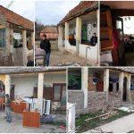 """Asociaţia """"Acasă în Banat"""" are nevoie de materiale şi voluntari pentru renovarea unei case foarte degradate"""