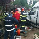 Accident la Maşloc, un șofer a fost încarcerat