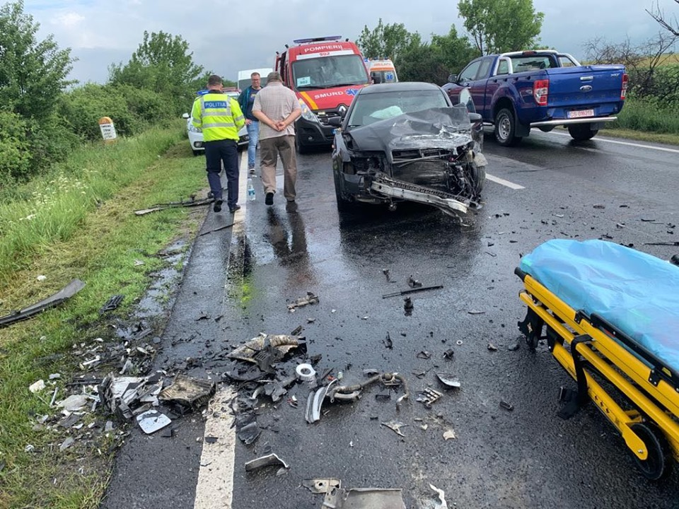 Accident pe drumul naţional dintre Voiteg şi Jebel