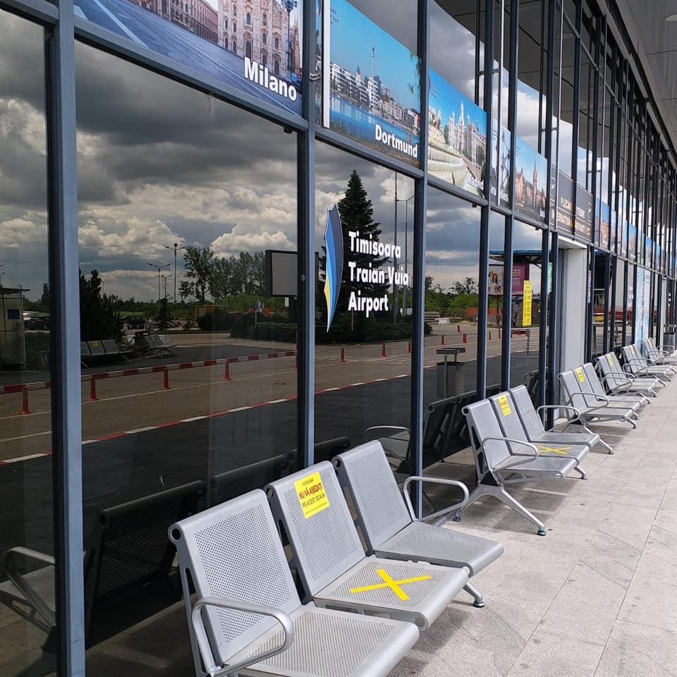 Se reiau treptat zborurile regulate spre destinații externe de pe aeroportul Timișoara