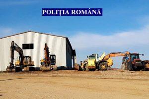 Percheziții în balastiere din Arad şi Bihor