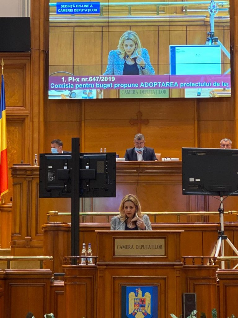Legea privind măsurile de siguranță cu caracter medical și statutul spitalelor de psihiatrie a fost adoptată în Camera Deputaților